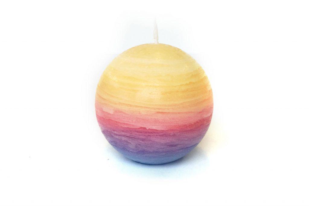 グラデーションキャンドル ボール