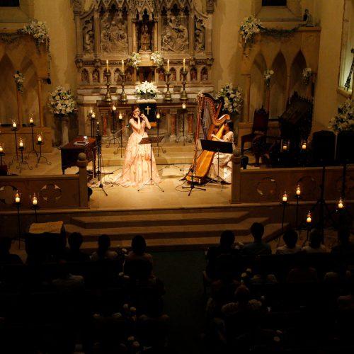 セントミッシェル教会キャンドルナイトコンサート